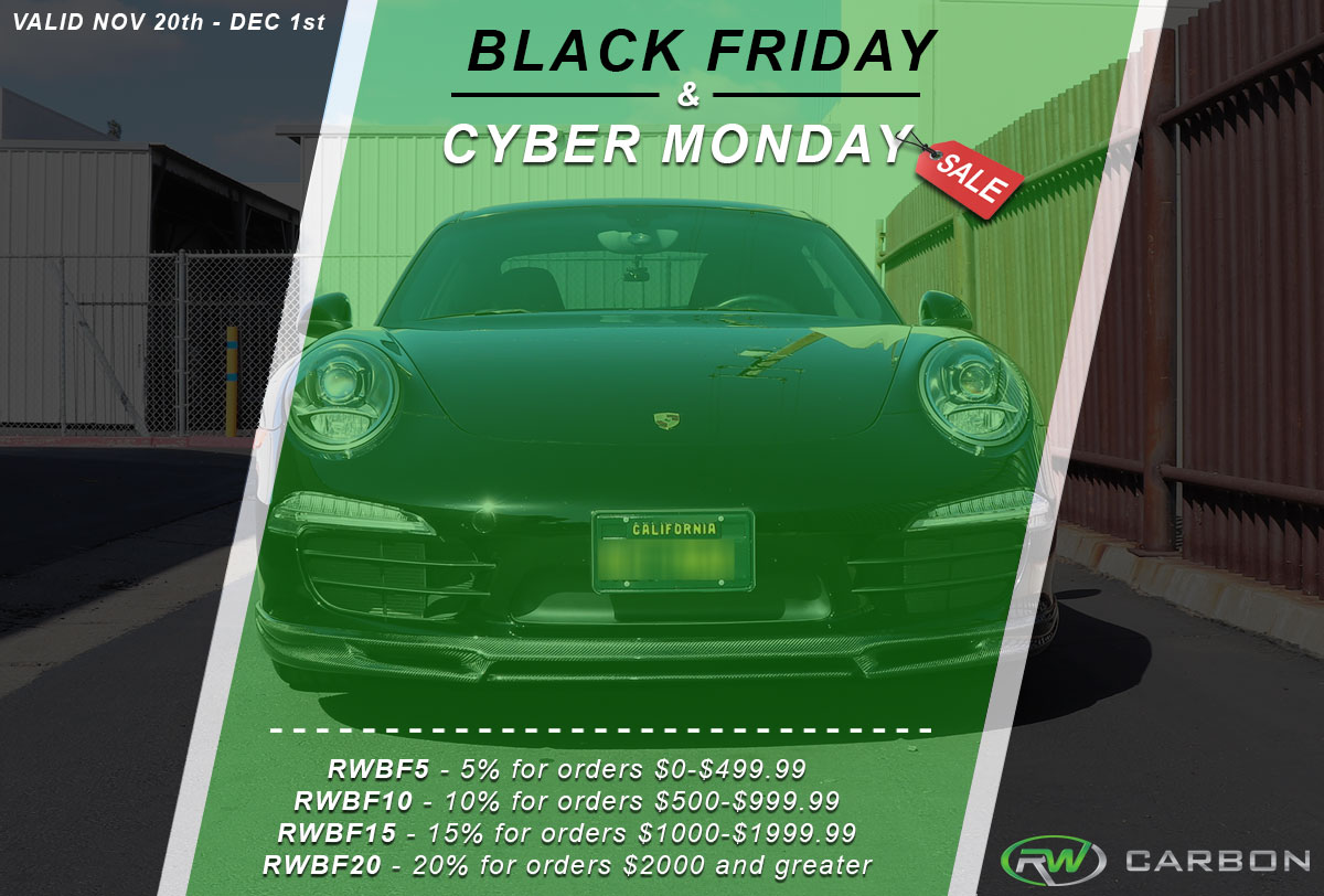 Black Friday Cyber Monday Sale Is In Full Swing Rw Carbon S Blog