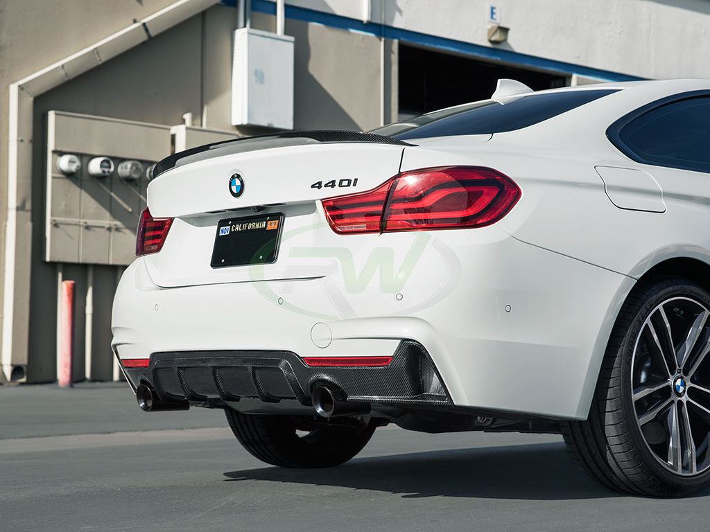 BMW F32 440i gets some Performance Style CF Parts - RW