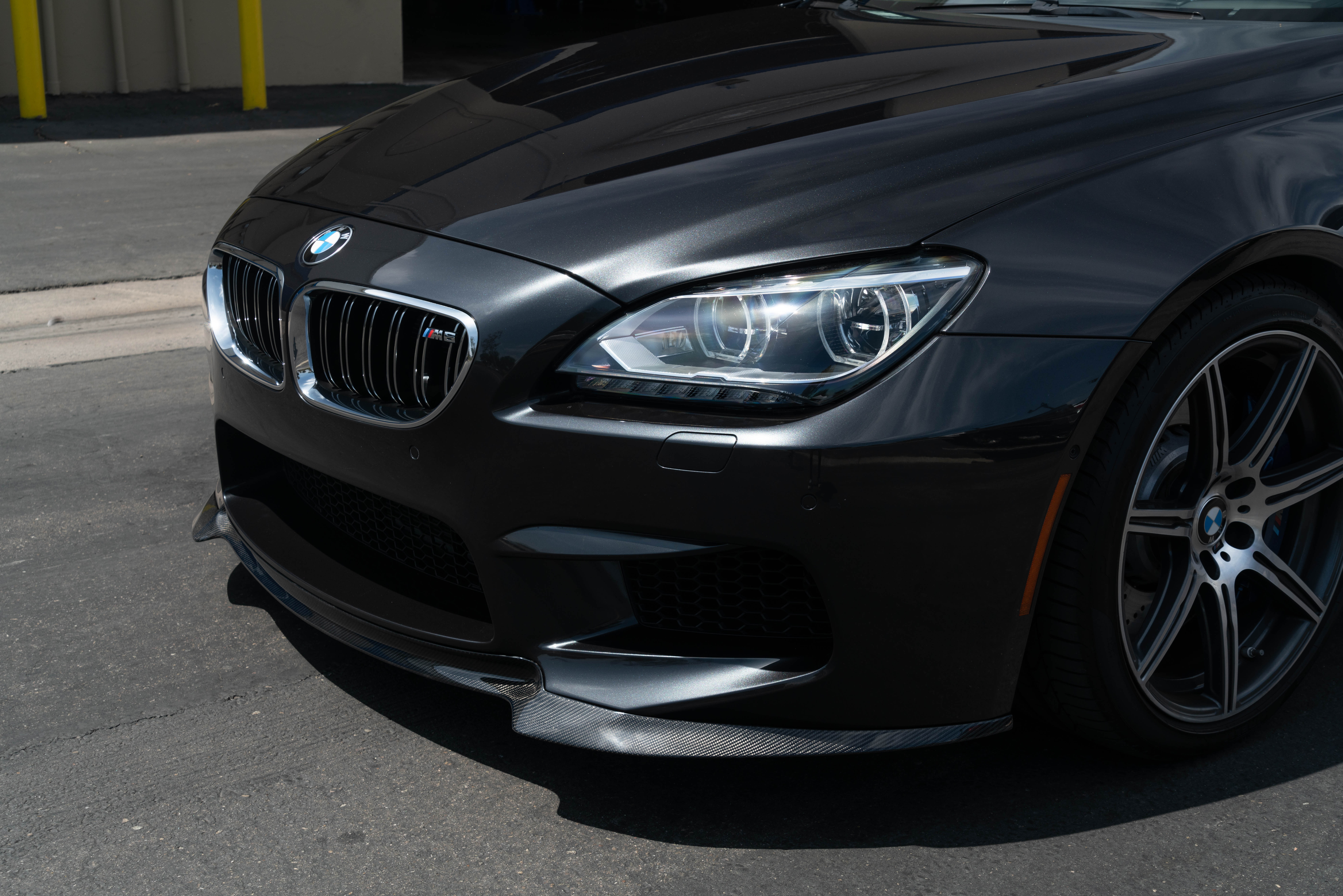 bmw f06 m6 gran coupe with carbon fiber