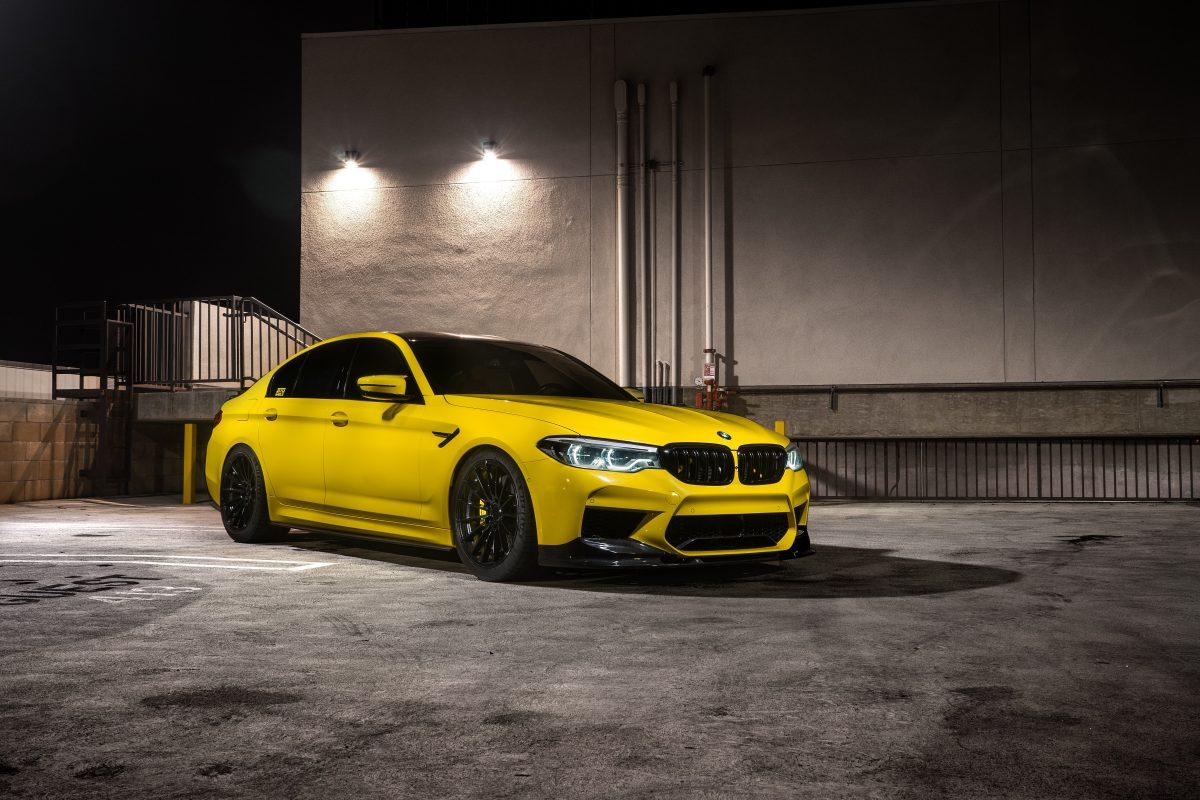 BMW F90 M5 3D Front Lip Carbon Fiber