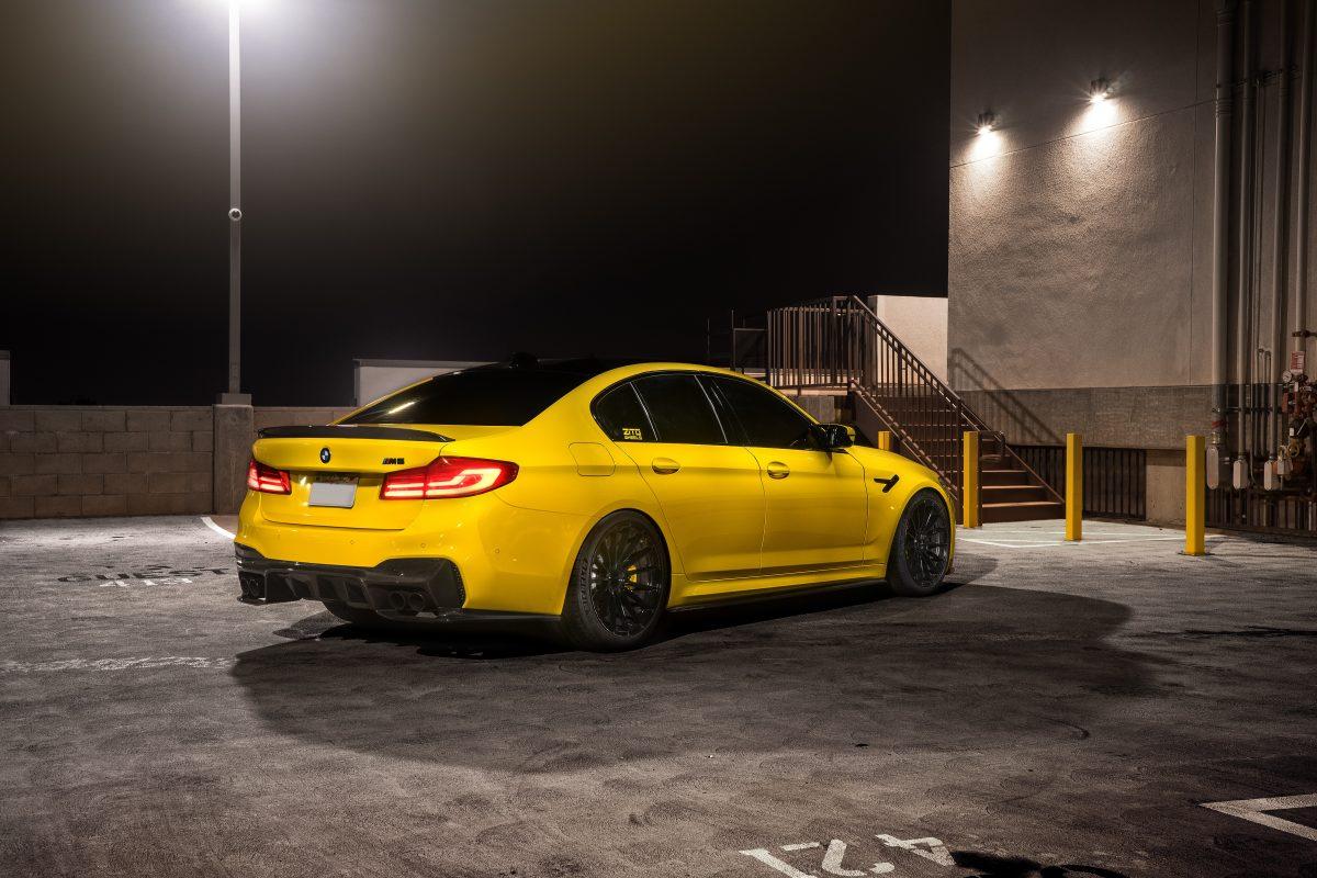 BMW F90 Carbon Fiber 3D Rear Diffuser