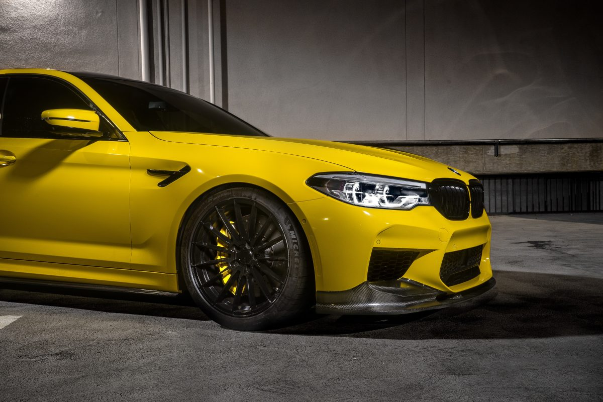 BMW F90 M5 3D Style Front Lip