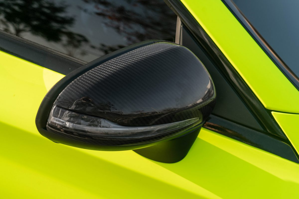 rw carbon w205 mirror cap replacements