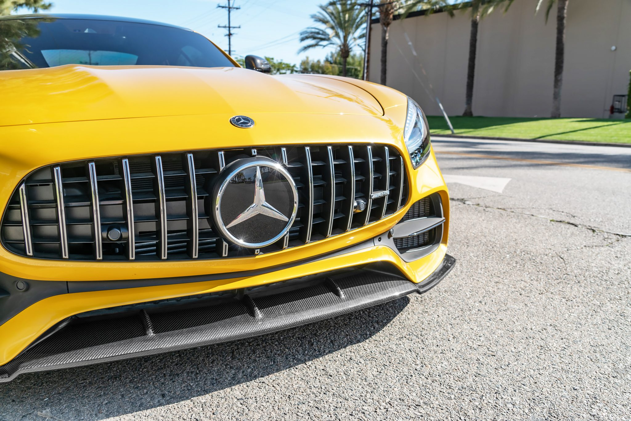 Big Fin Diffuser for a Mercedes W204 C63 AMG - RW Carbons