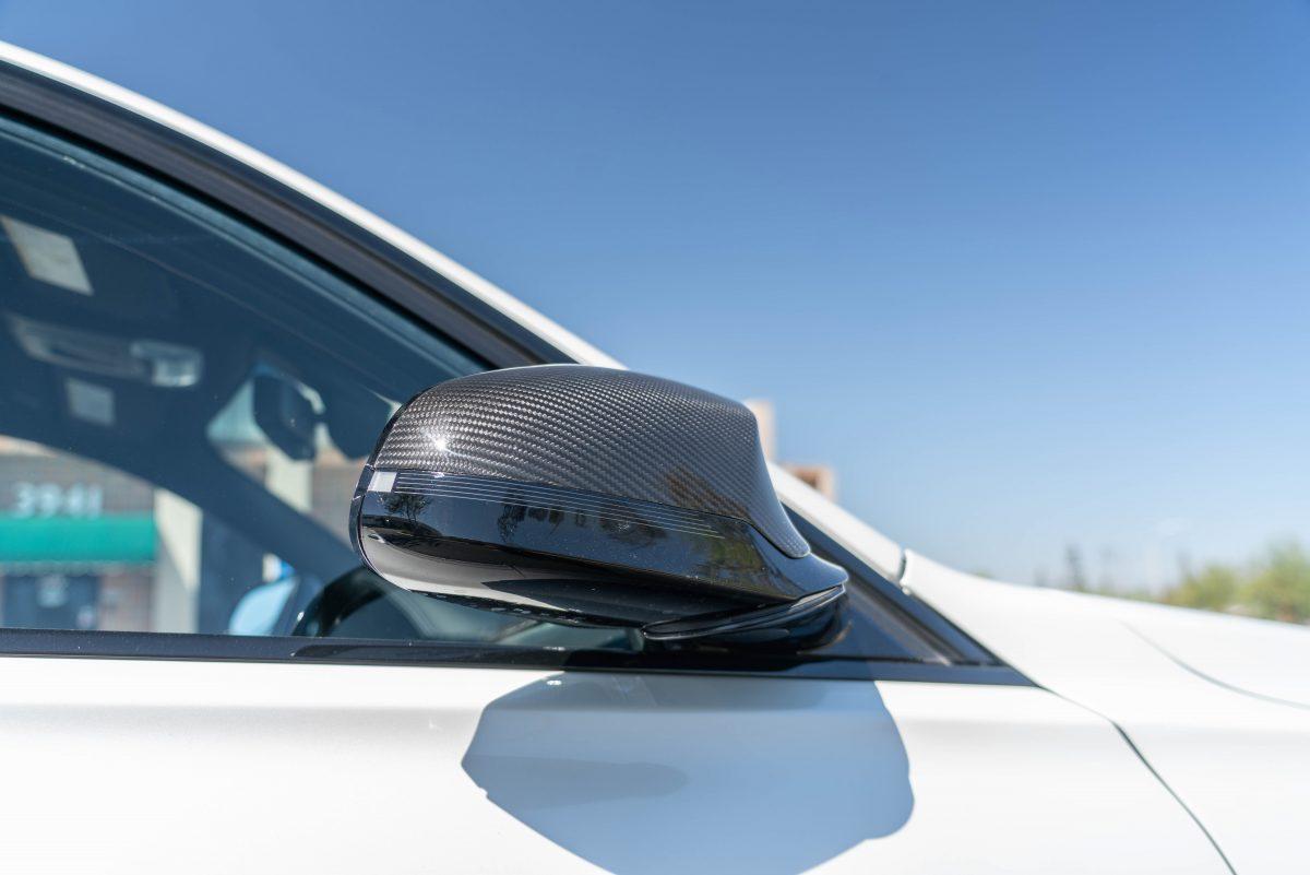 bmw f8x carbon fiber mirror cap replacements