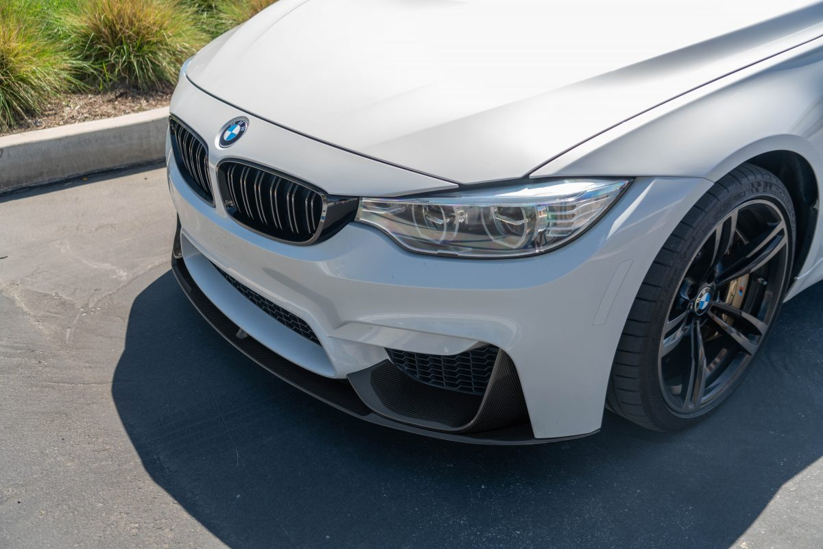 bmw f80 performance style front lip